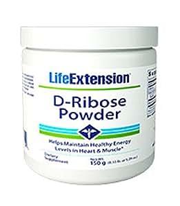 Life Extension D-Ribose Powder, 150 grams