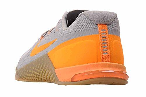 Nike Metcon 2 Cross Trainingsschuhe Wolf Grey / helle Zitrusfrucht