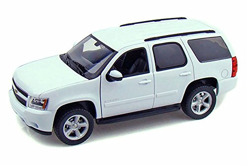 Welly 2008 Chevy Tahoe SUV, White 22509W/WT - 1/24 Scale Diecast Model Toy Car (Best Chevy Tahoe Model)