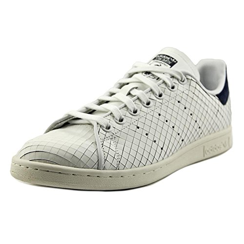 azul Blanco Leather Smith Trainers marino Womens Stan Adidas BqSw1Z1