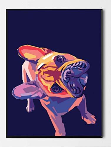 French Bulldog Merchandise - OMG Pop Prints French Bulldog Limited Poster Artwork - Professional Wall Art Merchandise (More (8x10)
