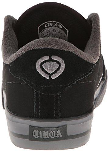 C1RCA Lopez 50 - zapatillas de caña baja de lona unisex negro - gris oscuro/blanco