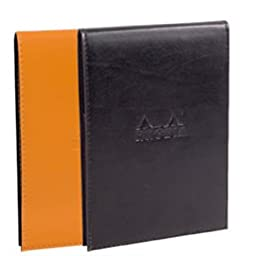 Rhodia Pad Holder And Pad 6X8.75 Black
