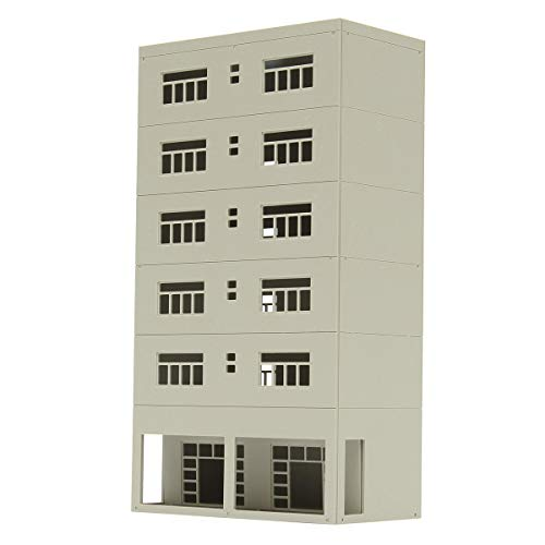 1/87 Models Railway 6-Story Business Office N Scale For Sandbox - Dolls & Stuffed Toys Doll House & Miniature - 1 X Building -