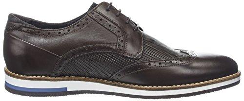 Bertie Baker Hill, Scarpe Stringate Brouge Uomo Marrone (Brown Leather)