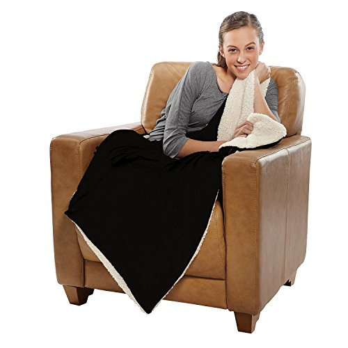 Sherpa Throw, Micro Mink Blanket, 37Oz/Each, 50