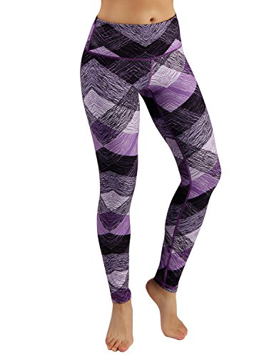 ODODOS Power Flex Printed Yoga Pants