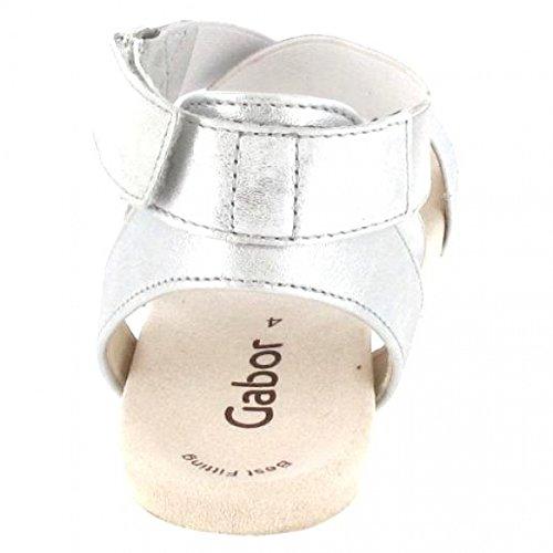 Gabor , Sandales pour femme gris gris
