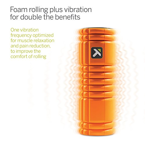 Triggerpoint 3326 TriggerPoint GRID VIBE Vibrating Foam Roller for Pain Relief, Relaxation, and Recovery