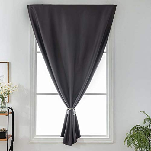Price comparison product image Yucode Solid Elegant Soft Durable Curtain for Living Room Thermal Insulated Panel Drape Window Treatment