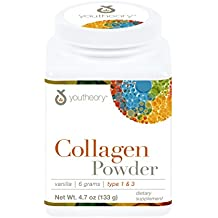 Youtheory Vanilla Collagen Powder, 4.7 Ounce