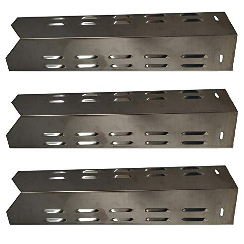 Htanch SN6131(3-Pack) Stainless Steel Heat Plate Replacement for Select Outdoor Gourmet Gas Grill Models