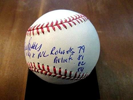 ec7222541d2 Bruce Sutter 4 X Rolaids Relief Awards Cards Hof Signed Auto Oml Baseball -  JSA Certified - MLB Autographed Baseball Cards at Amazon s Sports  Collectibles ...