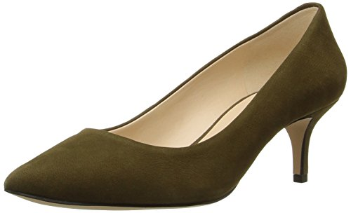 Nine West Womens Xeena Nubuck Dress Pump Green