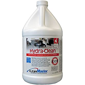 HydraClean - Ultra-Concentrated Liquid Carpet Cleaning Extraction Detergent, 1 gal (Pack of 4) - CleanMaster 950-110-B