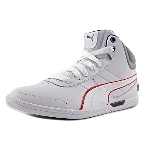 Puma BMW MS MCH Mid Men US 6.5 White Sneakers