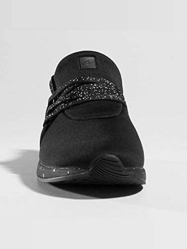 Project de Hombre sintético Delray Negro para Zapatillas Evrvq
