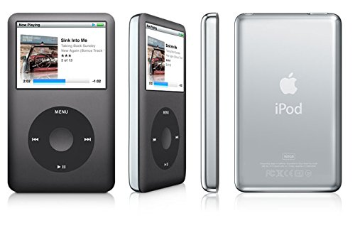 Apple iPod Classic 7th Generation Black Gray 160GB