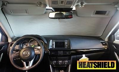 Sunshade for Mazda Cx-5 Cx5 Without Rearview Sensor 2013 2014 2015 2016 Heatshield Brand Windshield Custom-fit Sunshade #1363