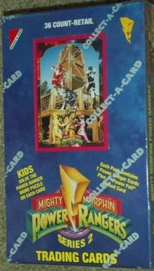 Mighty Morphin Power Rangers Series 2 Trading Cards Saban Entertainment Inc