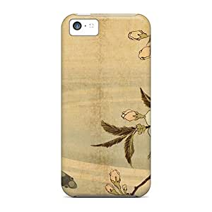 Sanp On Case Cover Protector For Iphone 5c (japanese Carp Art)