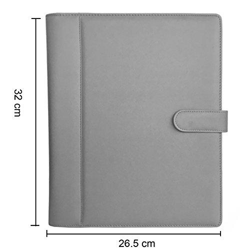 Padfolio   Resume Portfolio Folder   PU Leather Business Portfolio,Legal  Document Organizer U0026 Business  Resume Portfolio Folder