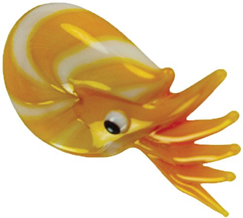 Looking Glass Nate the Nautilus Miniature Glass Collectible, Pack of 48