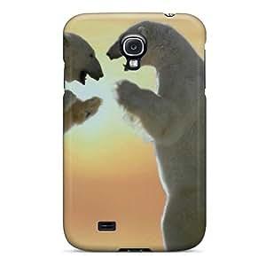 OwCdaXP7985PZRxD Polar Bears Friendship Awesome High Quality Galaxy S4 Case Skin