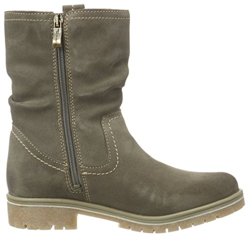 25471 taupe Boots Brown Women''s Ankle 341 Tamaris U5nqCa