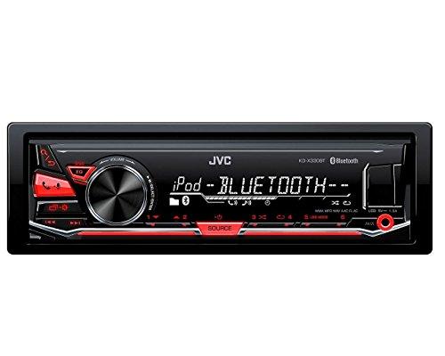 JVC KD-X330BT Digital Media Receiver mit Bluetooth, Front-USB und AUX inkl. A2DP schwarz