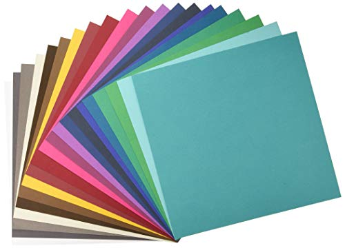 American Crafts Variety Pack Jewel 60 Sheets of 12 x 12 Inch Cardstock from American Crafts