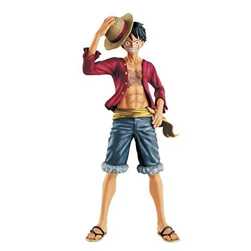 JAPAN OFFICIAL One Piece Monkey D. Luffy Figure Memory 25 cm BANPRESTE Rubber RUFY Statue  1