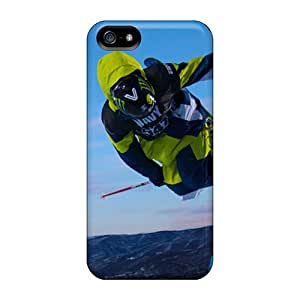 Defender Case With Nice Appearance (skier) For Iphone 5/5s