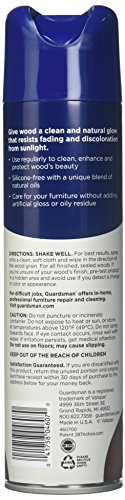 Guardsman 460700 Clean & Polish For Wood Furniture-Silicone Free, UV Protection, Woodland Fresh, 12.5 Ounce (Pack of 1), 12 Ounce