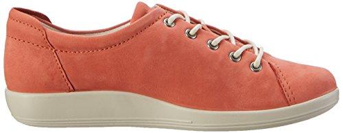0 Soft Derby Femme Ecco 2 2259coral Orange qw14nHA
