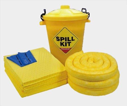 アズワン2-985-03緊急液体吸収キット(水油溶剤酸アルカリ用)CSK6E B07BD2W8Z6