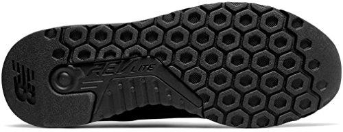 New Balance Herren Moderne Klassiker MRL247V1 Lifestyle Schuhe, 38 EUR - Width D, Black Mono