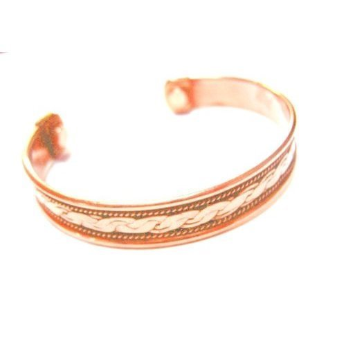 Powerful Magnetic Copper Cuff Bracelet for Arthritis and Golf Sport Aches and Pains.