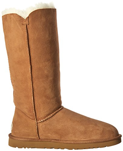 Botas Button Triplet Chestnut Ugg planas Marrón Bailey wqattx