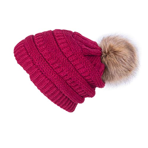 Winter Brand for Women Girl 'S Hat Knitted s Cap Hat Thick Women's Skullies s