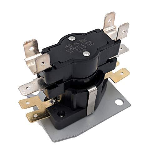 Supplying Demand 103 Furnace Heat Sequencer 1DPST 24 Volt On 1-20 Off 40-110
