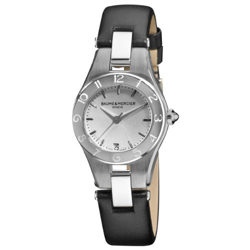 Baume & Mercier Women's MOA10008 Linea Silver Dial Watch