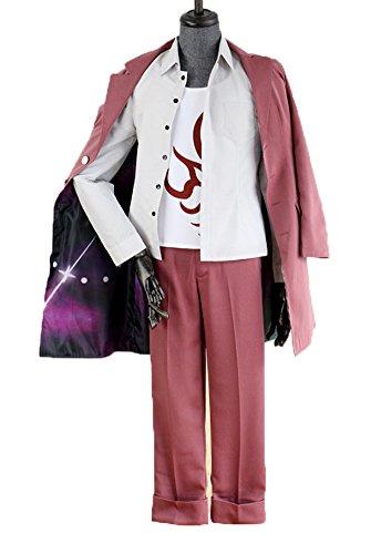 Wish Costume Shop Anime Momota Kaito Cosplay Costume Full Set (Male-XXL, Red) (Kaito Set)