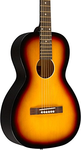 Rogue RA-090 Parlor Acoustic Guitar Satin Sunburst