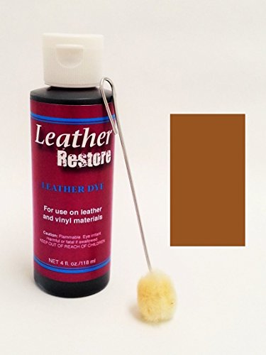 Leather Dye Applicator Light Brown