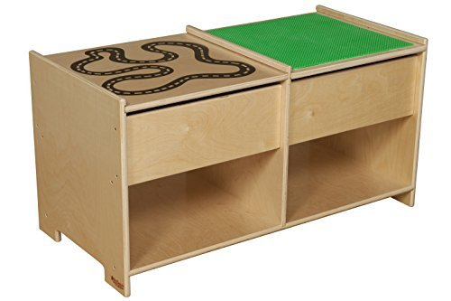 Wood Designs 85699  Build-N-Play Table with Racetrack