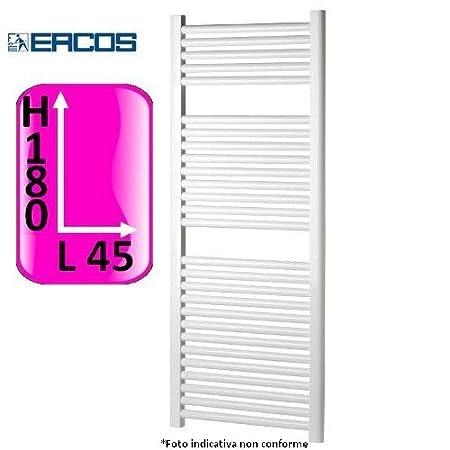 Radiatore termoarredo scaldasalviette bianco 120x45 interasse 40
