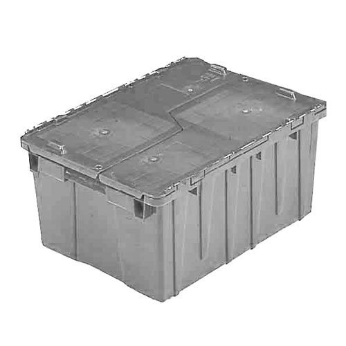 ORBIS FP261 Flipak Distribution Container - 23-7/8 x 19-5/8 x 12-5/8 Gray - 1/Pk