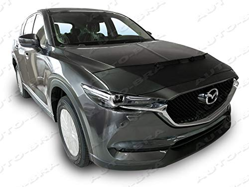 AB3-00062 Custom CAR Hood Bra for Mazda CX-5 Since 2017 Front End Nose Mask Bonnet Bra STONEGUARD Protector Tuning