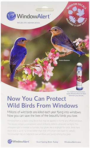 Window Alert WINDA9 Leaf Medley Decal